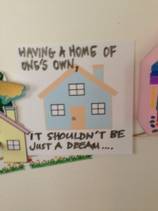 Image created by participant at Homeless Forum, Melbourne, August, 2015